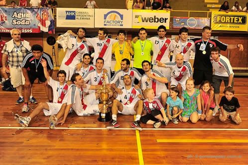 Fotos Balonmano: River Supercampeón