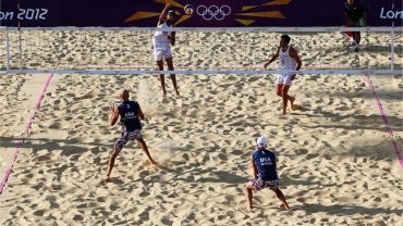Italia gana en voley playa